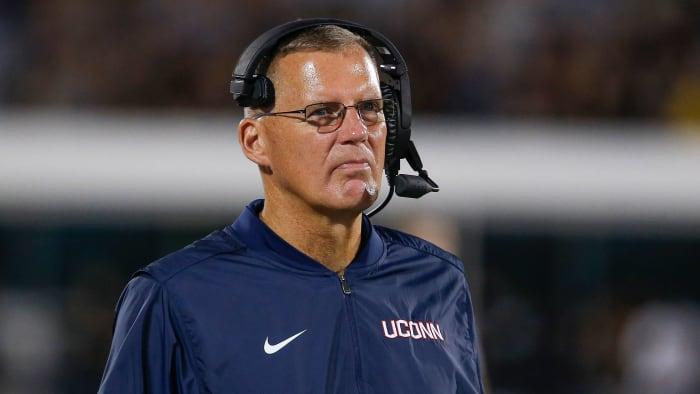 UConn football Randy Edsall coach