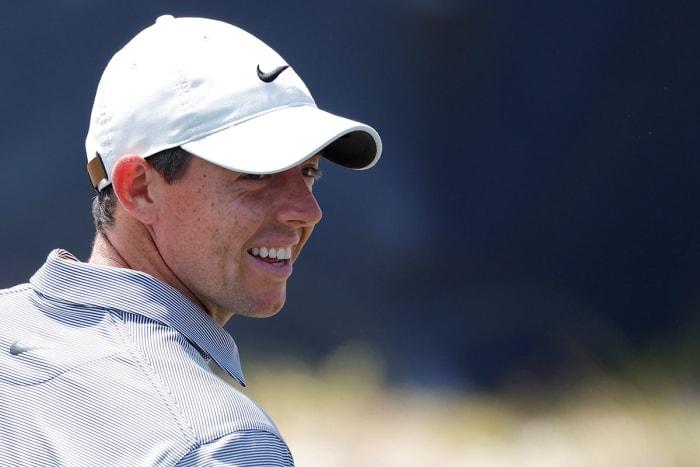 Rory McIlroy at the 2021 PGA Championship.