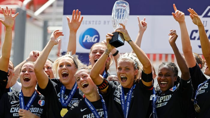 The Houston Dash won the 2020 NWSL Challenge Cup