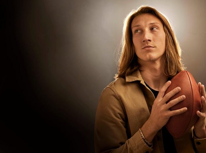 Trevor Lawrence portrait for Sports Illustrated