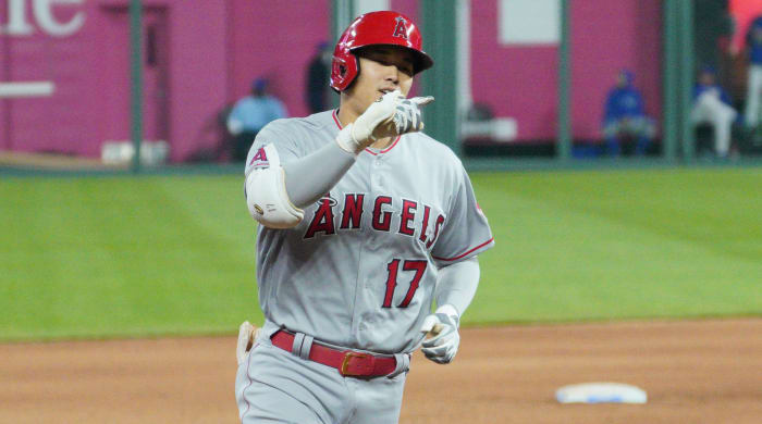Angels pitcher and DH Shohei Ohtani