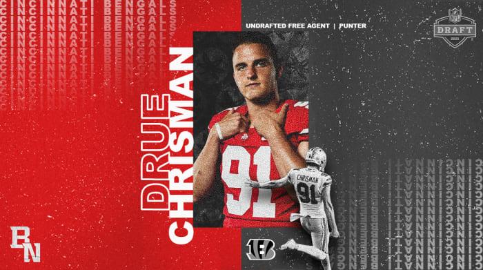 Drue Chrisman NFL Draft Card
