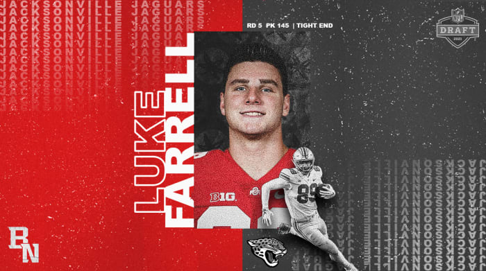 Luke Farrell NFL Draft Card