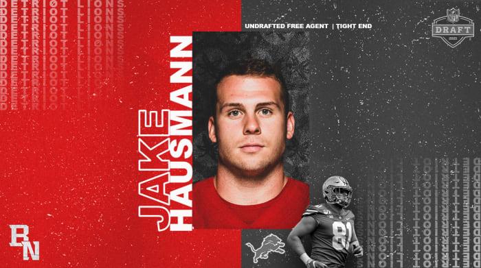 Jake Hausmann NFL Draft Card
