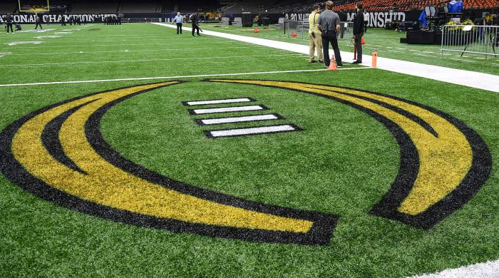 College football field