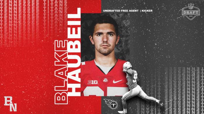 Blake Haubeil NFL Draft Card
