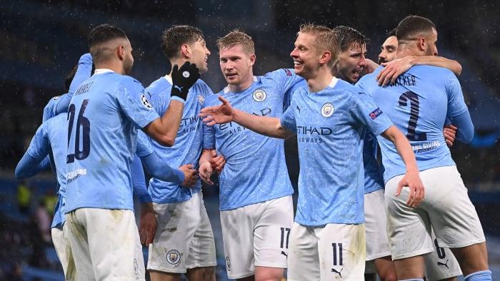 Man City reach the Champions League final