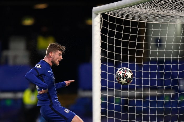 Timo Werner's goal got Chelsea on their way.