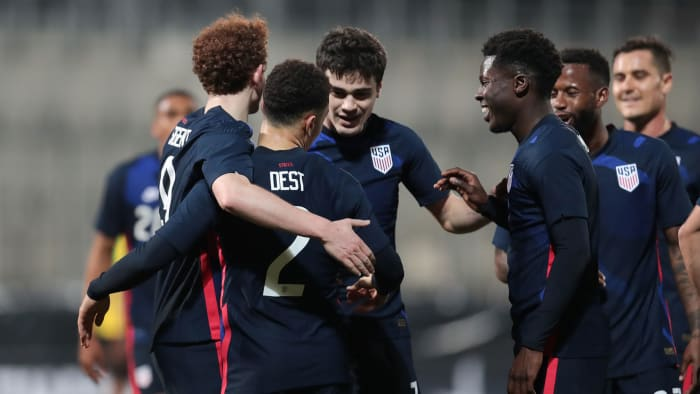 The USMNT will play the final four of the Nations League