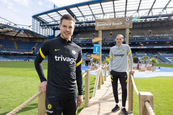 Tuchel was speaking at the launch of the partnership between Chelsea and Trivago.