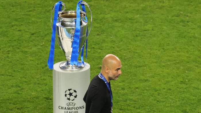 Pep Guardiola and Man City fall short in the Champions League final