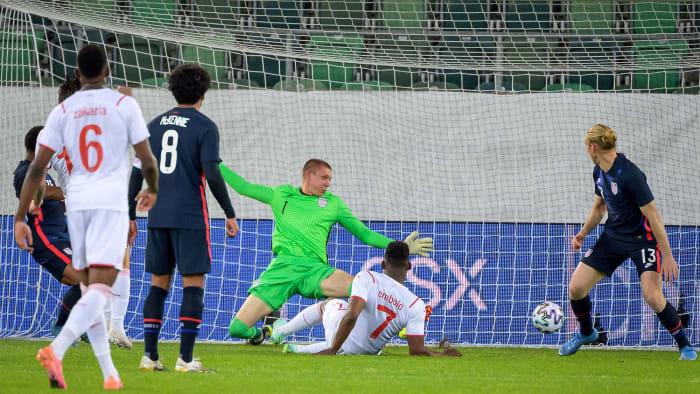 USMNT loses to Switzerland