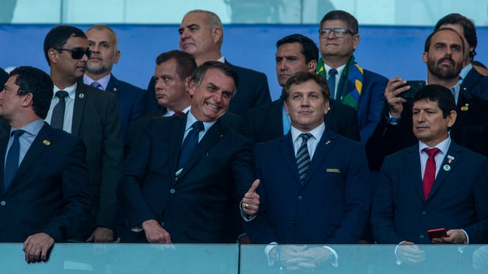 Presidente brasileño Jair Bolsonaro