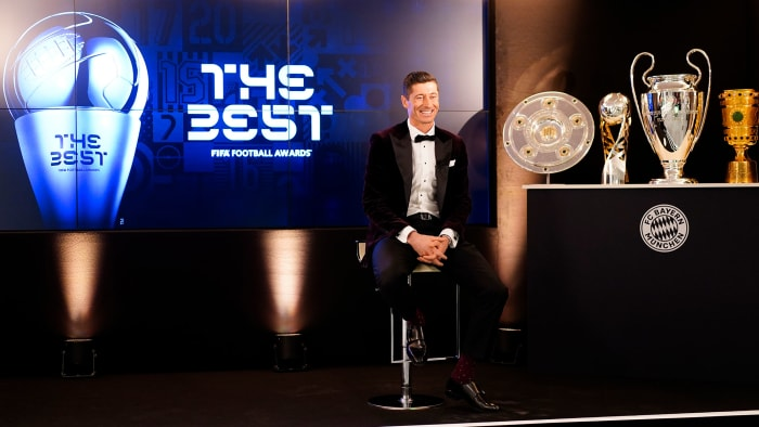 Robert Lewandowski won FIFA's player of the year