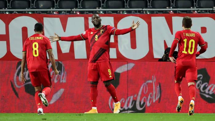Belgium is led by Romelu Lukaku