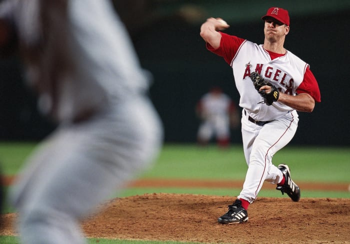 Harkins claims that Percival, the longtime Angels closer, taught him how to make his particular brew of sticky stuff.