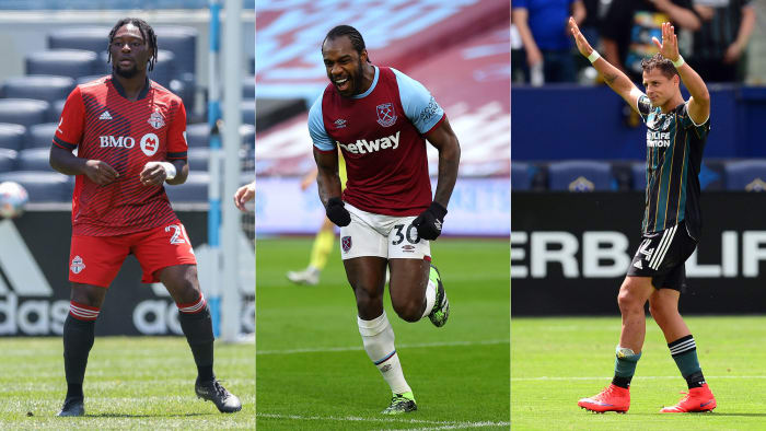 Ayo Akinola, Michail Antonio and Chicharito could appear in the Gold Cup