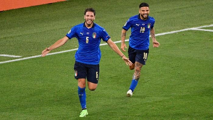 L'Italia ha vinto i tre terzi di Euro 2020