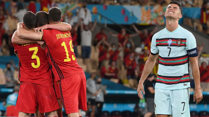 Belgium eliminates Portugal and Cristiano Ronaldo from the European Championship