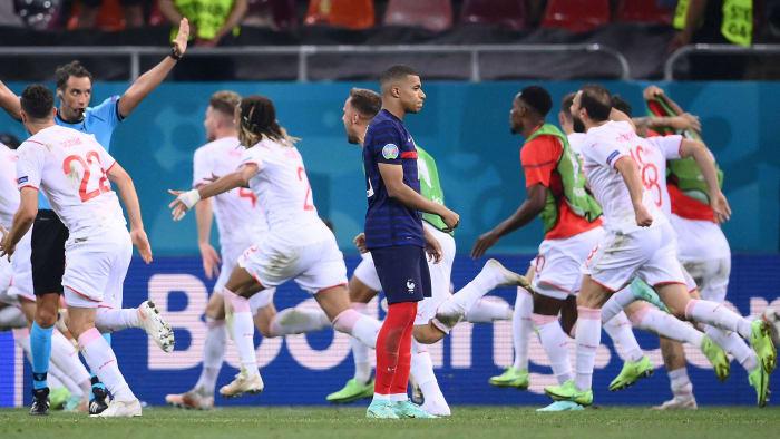 Kylian Mbappé misses the decisive PK of France against Switzerland