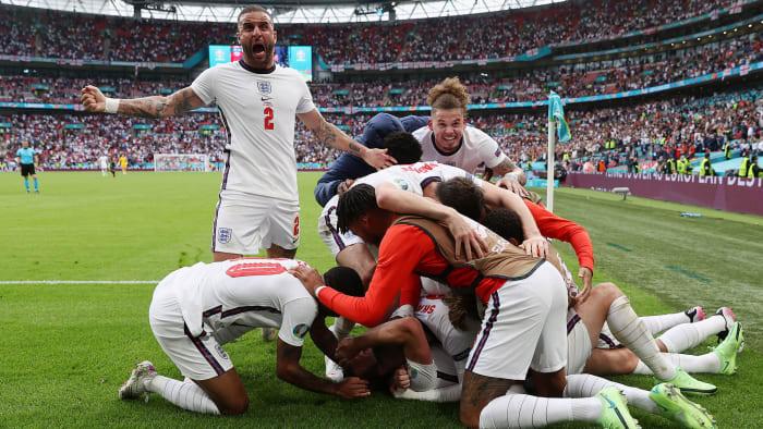 England beat Germany at Euro