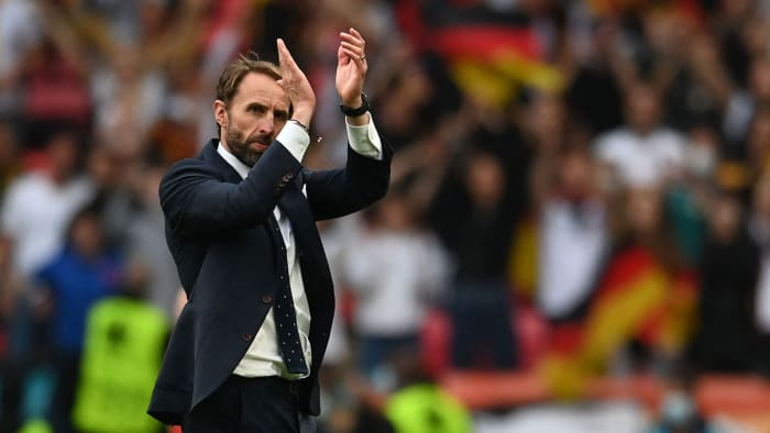 Gareth Southgate and England eliminate Germany