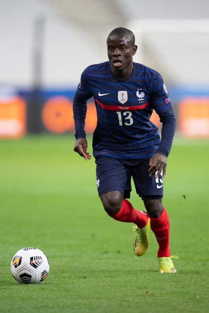 N'Golo Kanté a toujours été présent pour son pays à l'Euro 2020