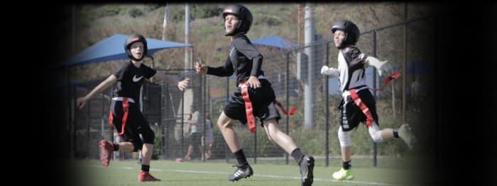 Football 'N' America and LIGHT Helmets partnership