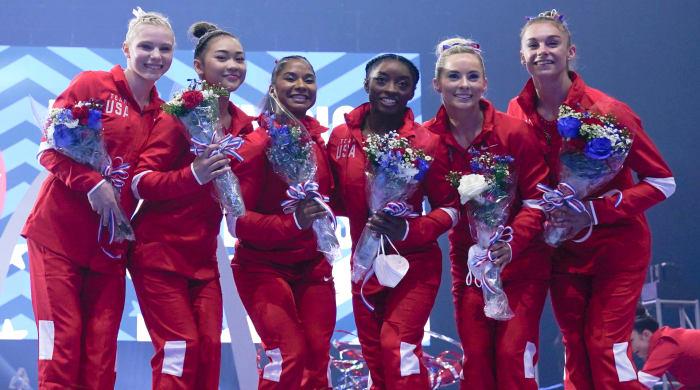 american-olympic-gymnastics-team
