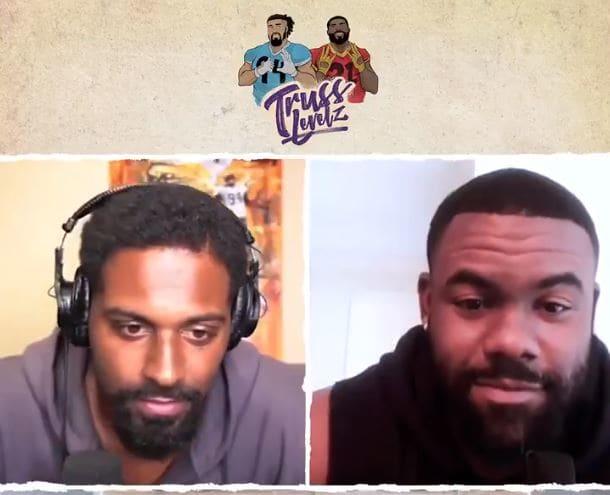 Cam Jordan and Mark Ingram - TrussLevelz Podcast