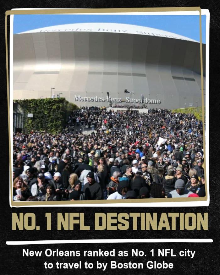 Saints # 1 Destination NFL