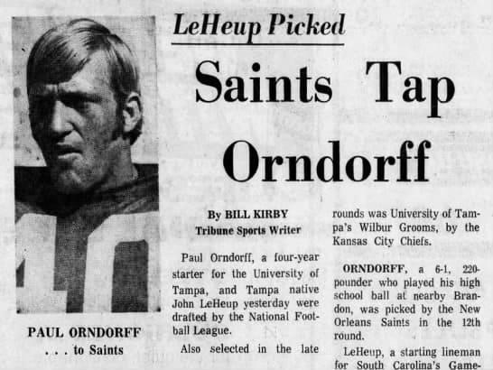 Paul Orndorff, Saints