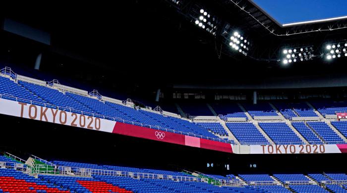 Japan-tokyo-empty-football-stadium