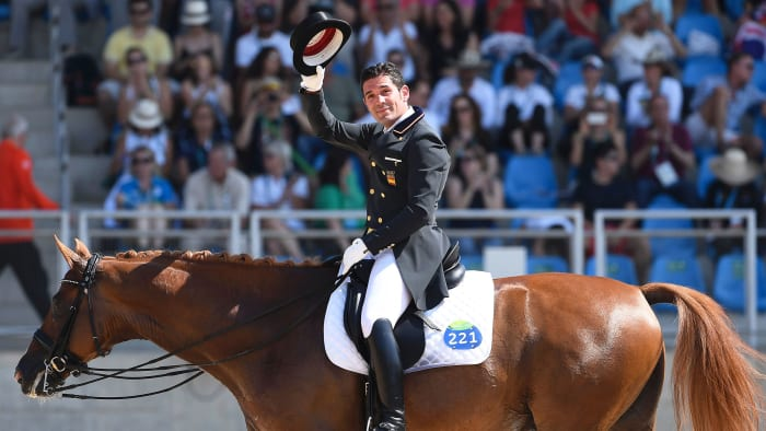 Jury and Smooth Horse at the 2016 Olympics