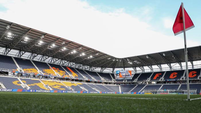 The TQL Stadium will host USA-Mexico
