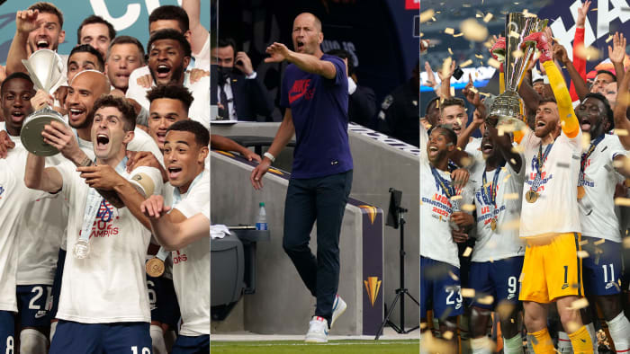 The USMNT won the Concacaf Nations League and the Gold Cup