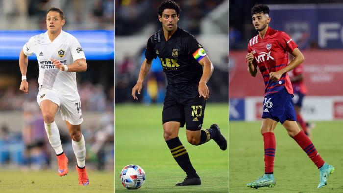 Chicharito, Carlos Vela and Ricardo Pepi make up the MLS All-Star team