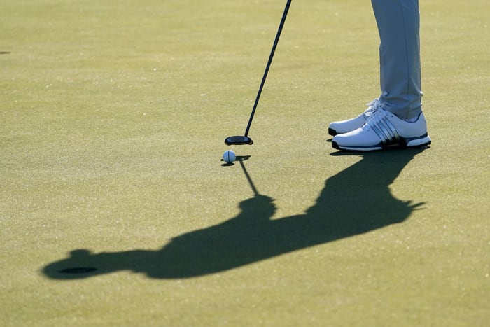 Ben Par fights on the greens - except when he has to putt to save Par. USA Today