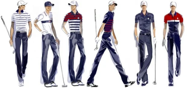 The 2021 American Ryder Cup uniforms.