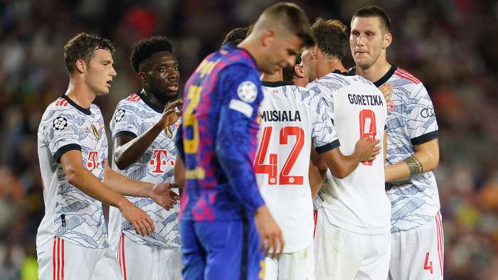 Bayern Munich beat Barcelona 3-0 in the Champions League