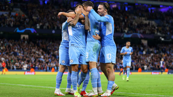 Manchester City beat Leipzig in the Champions League