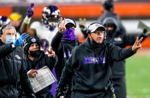 David Culley benched for the Baltimore Ravens during the 2020 season