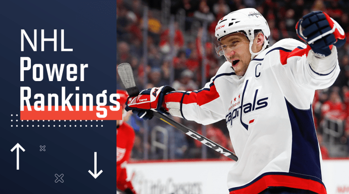 NHL Power Rankings: Capitals Climb Back on Top