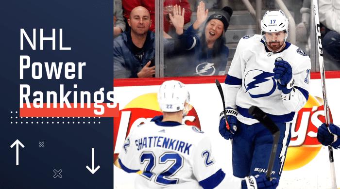 NHL Power Rankings: Lightning Return to Dominance Ahead of All-Star Break