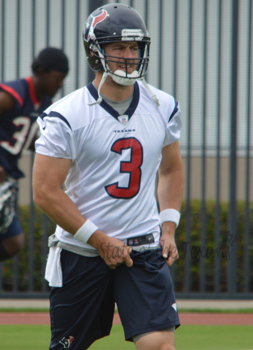 Stephen McGee, #3, Quarterback