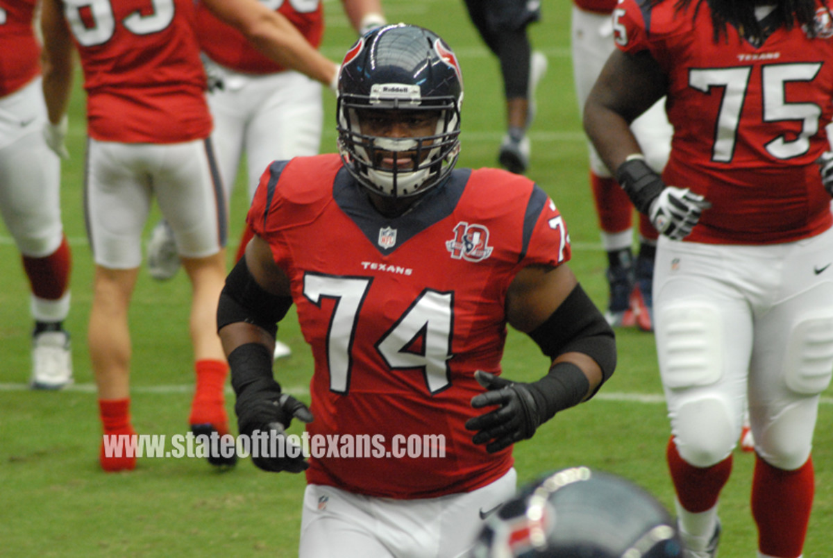 Wade Smith, #74 Starting Left Guard