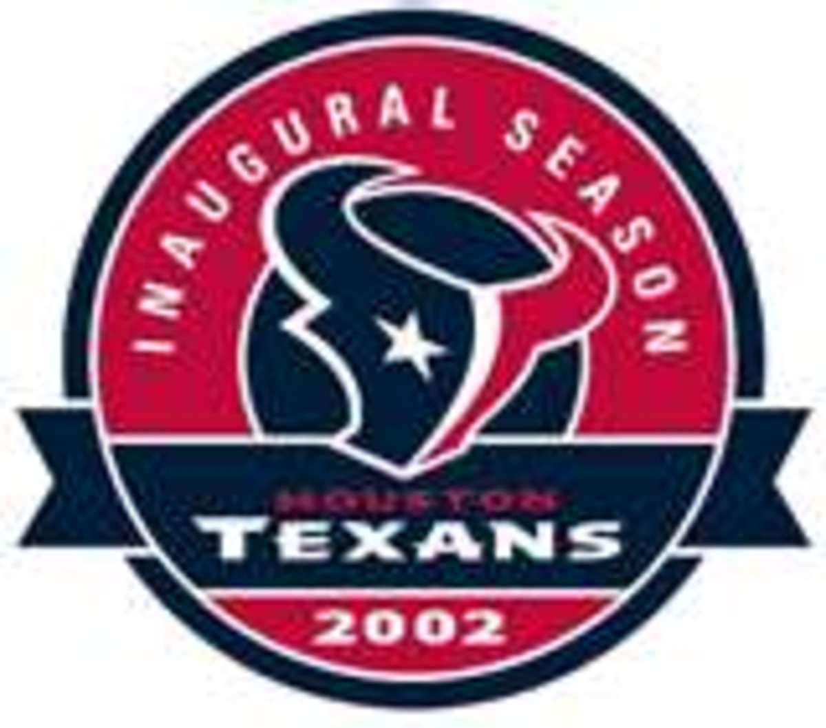 Texans Inagural Patch