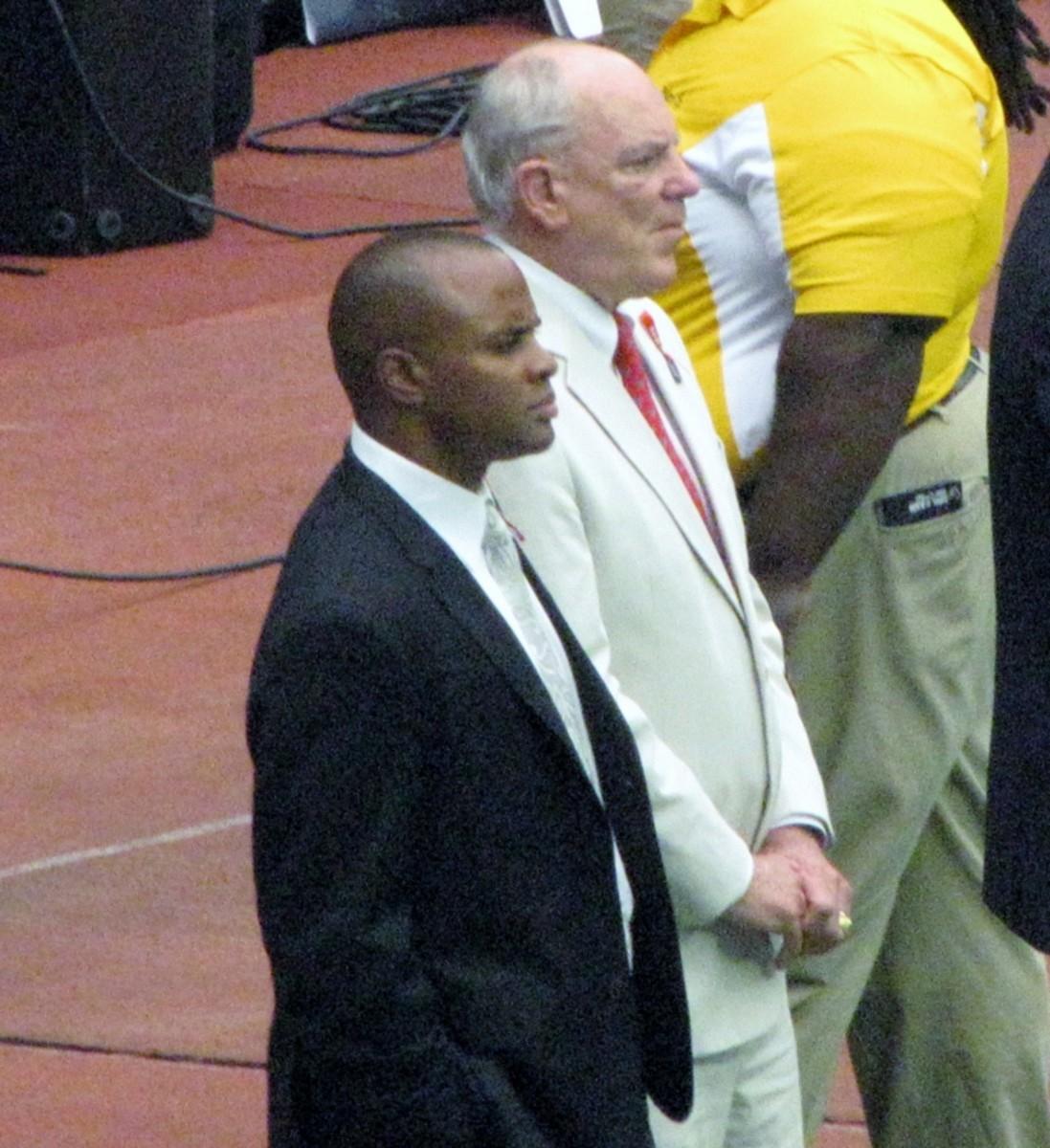 Rick Smith and Bob McNair