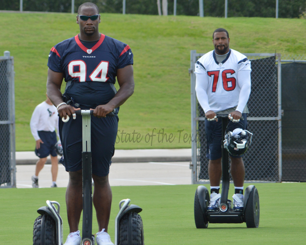 Antonio Smith and Duane Brown