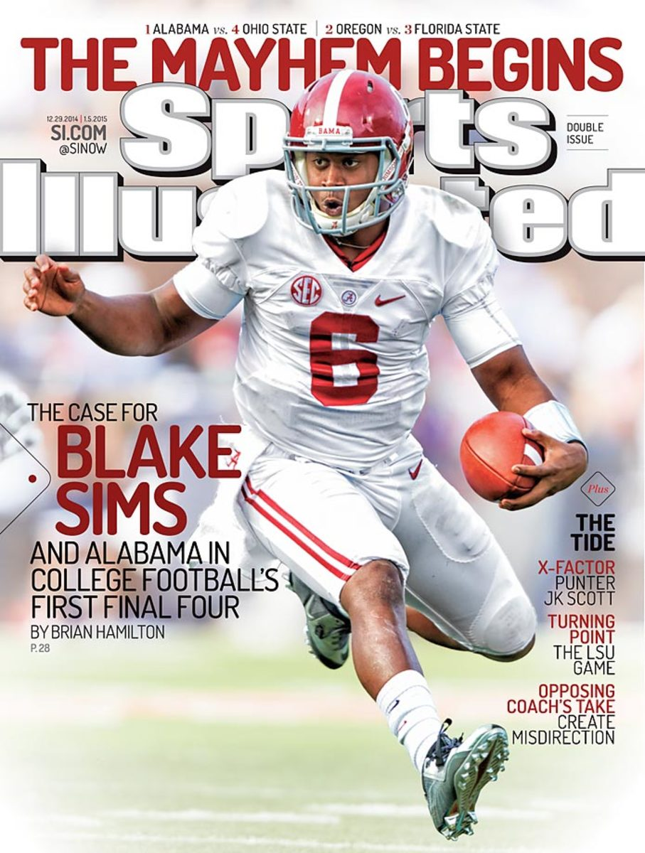 Blake Sims Sports Illustrated cover, December 29, 2014